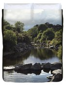 Newcastle, Shimna River, Co Down Duvet Cover