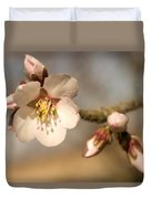 Newly Formed Buds And Flowers Bloom Duvet Cover