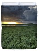 Newly Planted Crop Duvet Cover