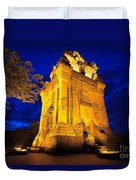 Nhan Tower.  Duvet Cover