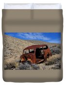 Nice Body Duvet Cover by Bob Christopher