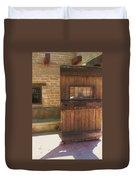 Nice Old Door Duvet Cover