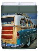 Nice Old Woody Duvet Cover
