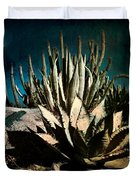 Night At The Desert's Edge Duvet Cover