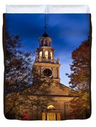 Night Church Duvet Cover