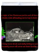 Night Of Christmas Duvet Cover