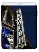 Nightfall At The Orpheum - San Francisco California - 5d17991 Duvet Cover
