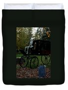 Nightly Death Ride Duvet Cover