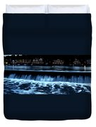 Nighttime At Boathouse Row Duvet Cover