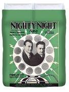 Nighty-night Duvet Cover