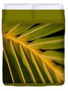 Niu - Cocos Nucifera - Hawaiian Coconut Palm Frond Duvet Cover