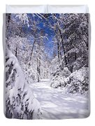 No Footprints Duvet Cover by Rob Travis