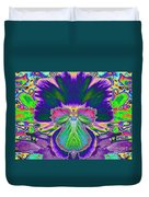 No Pansy Here Duvet Cover