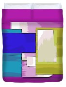 Nombre Abstrait 11 Duvet Cover