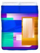 Nombre Abstrait 7 Duvet Cover