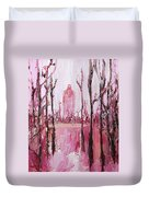 None Can Reach Heaven Who Has Not Passed Through Hell Duvet Cover