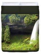 North Falls At Silver Falls Duvet Cover