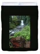 North Falls In Oregon Duvet Cover