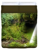North Falls Waterfall Duvet Cover