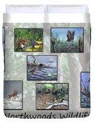 Northwoods Wildlife Duvet Cover