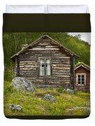 Norwegian Timber House Duvet Cover