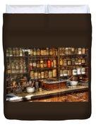Nostalgia Pharmacy 2 Duvet Cover