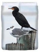 Not Birds Of A Feather Duvet Cover