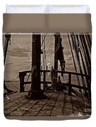 Notorious The Pirate Ship 4 Duvet Cover