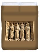 Notre Dame Details 1 Duvet Cover