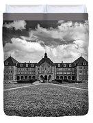 Notre Dame Seminary Monochrome Duvet Cover
