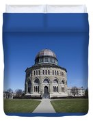 Nott Memorial Building At Union College Duvet Cover