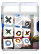 Noughts And Crosses Duvet Cover