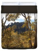 Nourlangie Rock Outlook Duvet Cover