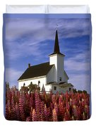 Nova Scotia Church Duvet Cover