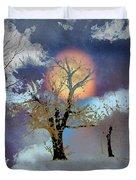 November Moon Duvet Cover