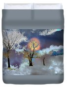 November Moon Duvet Cover