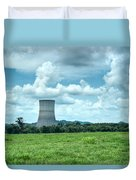 Nuclear Cooling Tower Duvet Cover