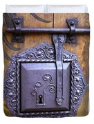 Nuremberg Castle Door Lock Duvet Cover