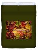 Nurture-autumn Duvet Cover