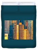 Nyc Colors And Lines IIi Duvet Cover