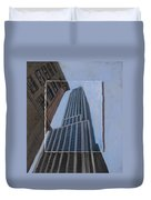 Nyc Severe Empire Layered Duvet Cover
