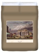 Nyc: The Tombs, 1850 Duvet Cover