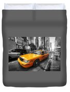 Nyc Yellow Cab Duvet Cover