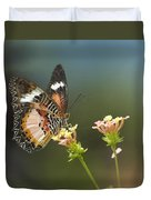 Nymphalid Butterfly Cethosia Luzonica Duvet Cover