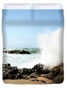 Oahu North Shore Breaker Duvet Cover
