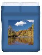 Oak Creek Reflection Duvet Cover