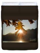 Oak Leaf Duvet Cover