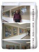 Oakwood Heritage Gallery Exhibit Duvet Cover
