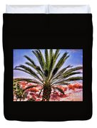 Oasis Palms Duvet Cover