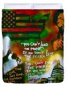 Obama Vs. Cornel Duvet Cover